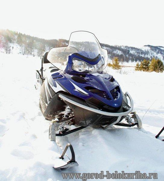 Фотогалерея - Снегоход.